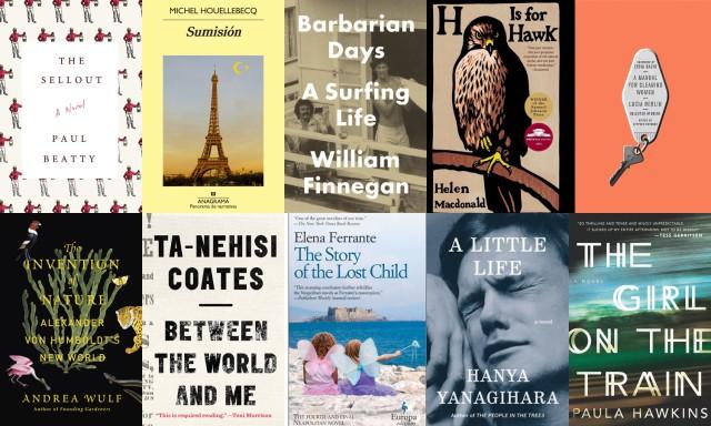 Libros más destacados en las listas de resumen de 2015