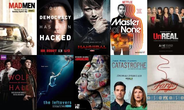 Las series de TV más destacadas en los resúmenes de 2015